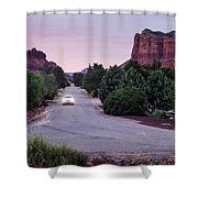 Twilight Drive Shower Curtain