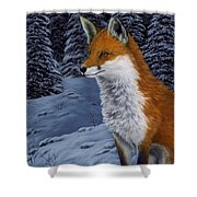 Twilight Hunter Shower Curtain