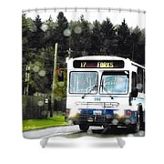 Twilight In Forks Wa 1 Shower Curtain