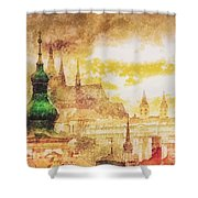 Twilight In Praha Shower Curtain