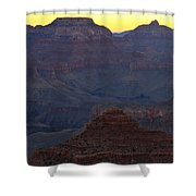Twilight Mather Point  Shower Curtain