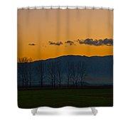 Twilight Mist Shower Curtain