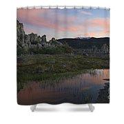 Twilight, Mono Lake, California Shower Curtain