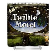Twilight Motel Shower Curtain
