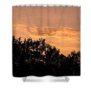 Italian Landscape - Twilight Of The Gods 2 Shower Curtain