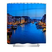 Twilight On The Grand Canal Shower Curtain