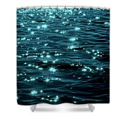 Twilight On The Waters Shower Curtain