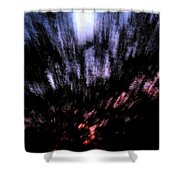 Twilight Tree Travel Shower Curtain