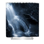 Twilight Waterfall Shower Curtain