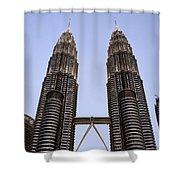 Twilit Petronas Shower Curtain