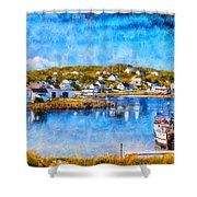 Twillingate In Newfoundland Shower Curtain