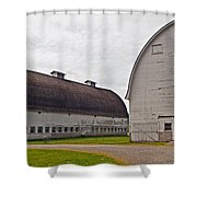 Twin Barns Shower Curtain