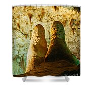 Twin Domes Shower Curtain