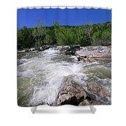 Twin Falls Austin Shower Curtain