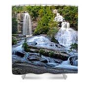 Twin Falls South Carolina Shower Curtain