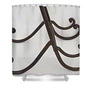 Twin Feet Shower Curtain