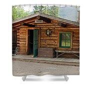 Twin No. 1 Cabin At The Holzwarth Historic Site Shower Curtain