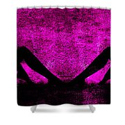 Twin Nude Silhouette Shower Curtain