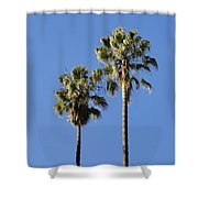 Twin Palms Shower Curtain