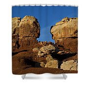 Twin Rocks Capitol Reef National Park Utah Shower Curtain