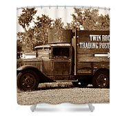 Twin Rocks Trading Post Shower Curtain