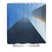 Twin Towers Shower Curtain by Jon Neidert