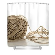 Twine Shower Curtain