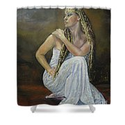 Twins 2 Shower Curtain