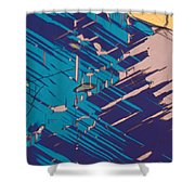 Twins Of Cordierite 3 Shower Curtain