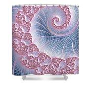 Twirly Swirl Shower Curtain