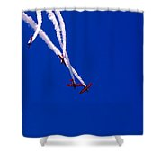 Twist And Turns Shower Curtain