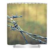 Twisted II Shower Curtain