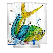 Twisted Mahi Shower Curtain