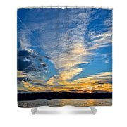 Twister Cloud Shower Curtain