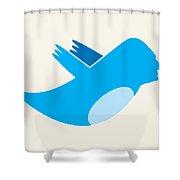 Twitter George Washington Shower Curtain