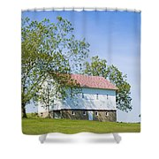 Two Barns Shower Curtain