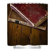 Two Books Shower Curtain