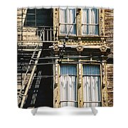 Two By Two San Francisco Shower Curtain
