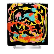 Two Carnival Shower Curtain