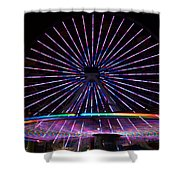 Two Carousels  Shower Curtain