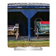 Two Carts Shower Curtain