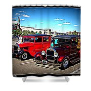 Two Classy Classics Shower Curtain