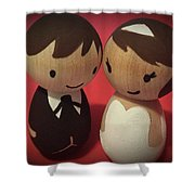 Two Cute Shower Curtain