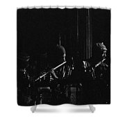 Two Flutes Shower Curtain