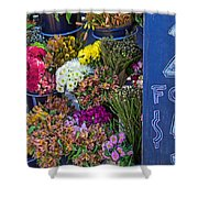 Two For Five Dollars Shower Curtain