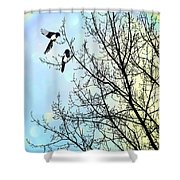Two For Joy Shower Curtain
