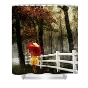 Two For The Road Shower Curtain