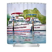 Two If By Sea Shower Curtain