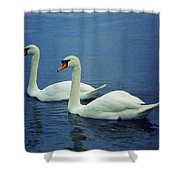 Two In Life Shower Curtain
