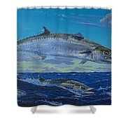 Two Kings Shower Curtain